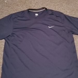 NAVY blue men nike fit XL shirt